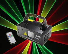 Red, Green, Yellow Laser